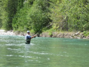 Fishing the Stehekin