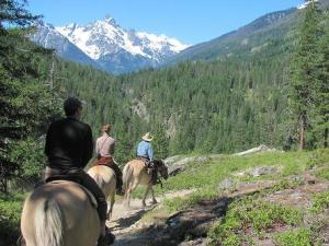 Fantastic views on a Trail Ride