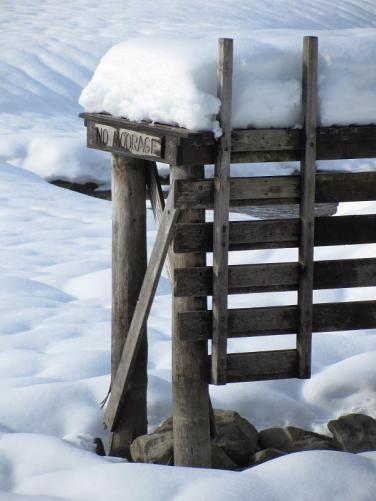 No Moorage at this Dock
