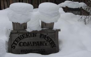 Stehekin Pastry Co. Sign